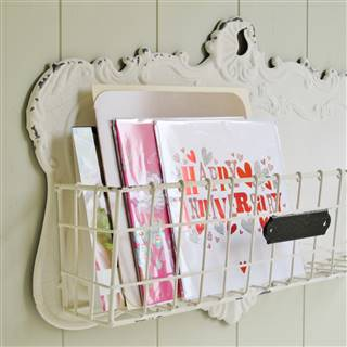 £34.99<br /><a href='/home-accessories/magazine-racks/cream-wall-storage-basket' target='' title=''>for more details</a>
