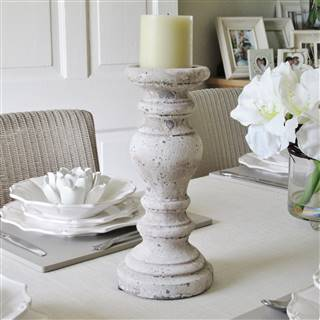 £14.99<br /><a href='/home-accessories/candle-holders/distressed-stone-candlestick-2' target='' title=''>for more details</a>