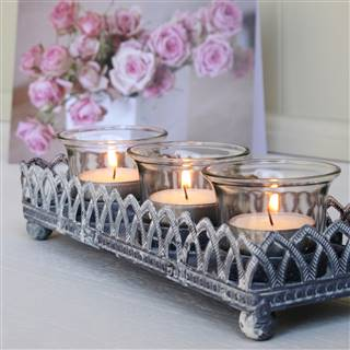 £10.99<br /><a href='/home-accessories/candles-and-holders/filigree-tea-light-tray' target='' title=''>for more details</a>