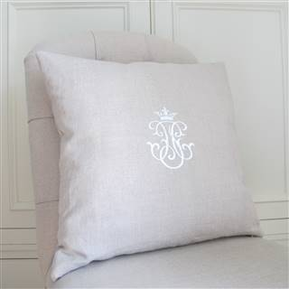 <strike>£24.99</strike> <span class='errorText'>£21.99</span><br /><a href='/home-accessories/cushions-and-curtains/linen-and-white-emblem-cushion' target='' title=''>for more details</a>