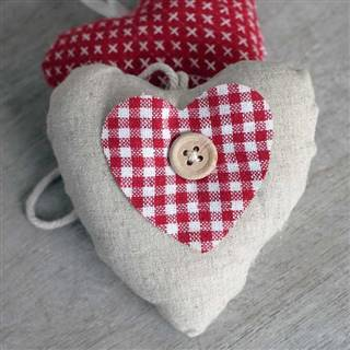 <strike>£2.99</strike> <span class='errorText'>£1.99</span><br /><a href='/home-accessories/decorative-items/linen-red-gingham-hanging-heart' target='' title=''>for more details</a>