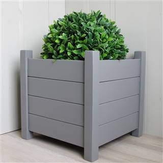 <strike>£119.99</strike> <span class='errorText'>£114.99</span><br /><a href='/garden/planters/set-of-2-grey-square-planters-40cm' target='' title=''>for more details</a>
