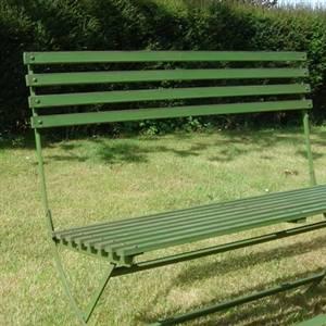 Swell Green Garden Metal Bench Bliss And Bloom Ltd Machost Co Dining Chair Design Ideas Machostcouk