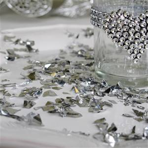 85g Bag Silver Table Confetti