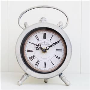 Cream Round Mantel Clock