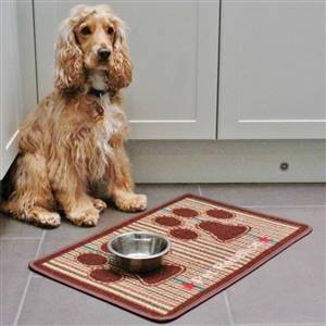 Dog Food Mat Country Tweed