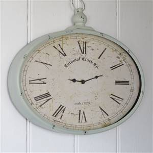 French Grey Clock