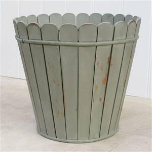 French Grey Waste Paper Bin