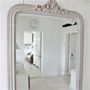 French Style Grey Wall Mirror