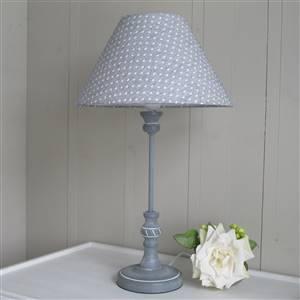 Hearts Grey Table Lamp