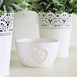 Heart Candle Bowl Dish