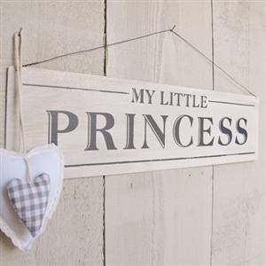 Princess wall plaque sign