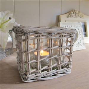 Natural Willow Candle Holder