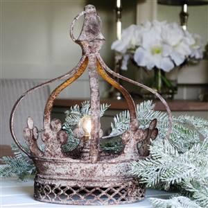Large Crown LED Lamp
