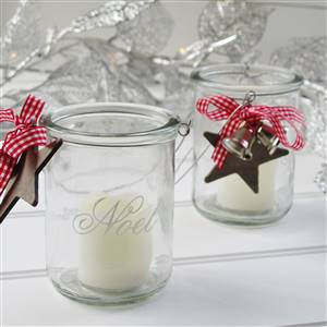 Noel Xmas Candle Tea Light Holder
