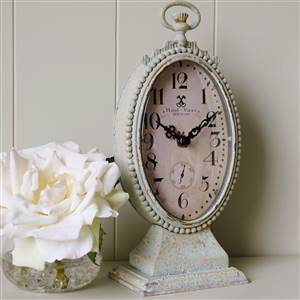 Oval Mantel Clock