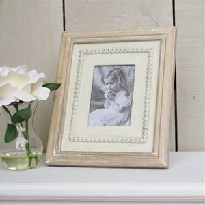 Cream Wooden Picture Frame