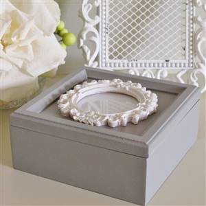 Photo Jewellery Box Grey