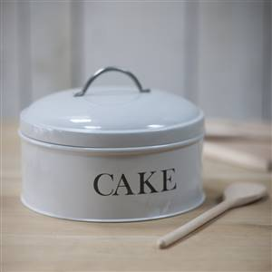 Round Cake Tin Chalk SECONDS