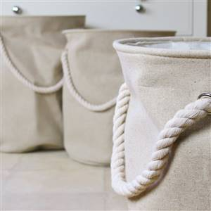 Linen laundry bins x 3 SECONDS