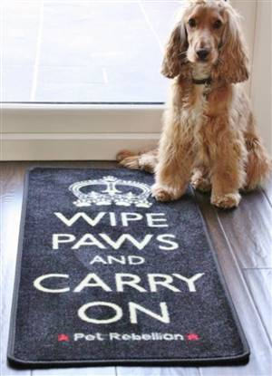 Pet Floor Mat Wipe Paws Carry On