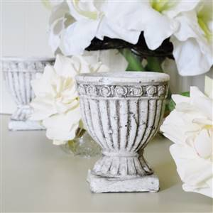 Stone Urn Candle x 1