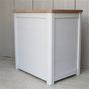 Wooden Laundry Bin Medium