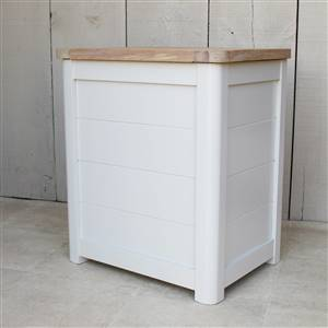 Wooden Laundry Bin Small