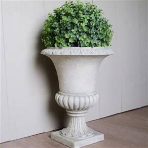 Urn Planter Pot Holder Grey Stone