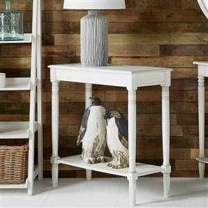 White Console Table With Shelf Ashley Range