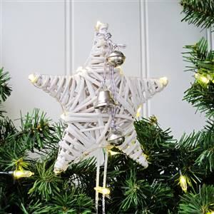 White Xmas Tree Star LED