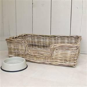 Wicker Dog Bed Basket SECONDS