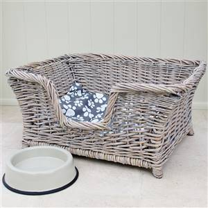 Wicker Dog Bed SECONDS