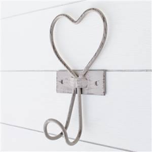 Wire Heart Single Wall Hook