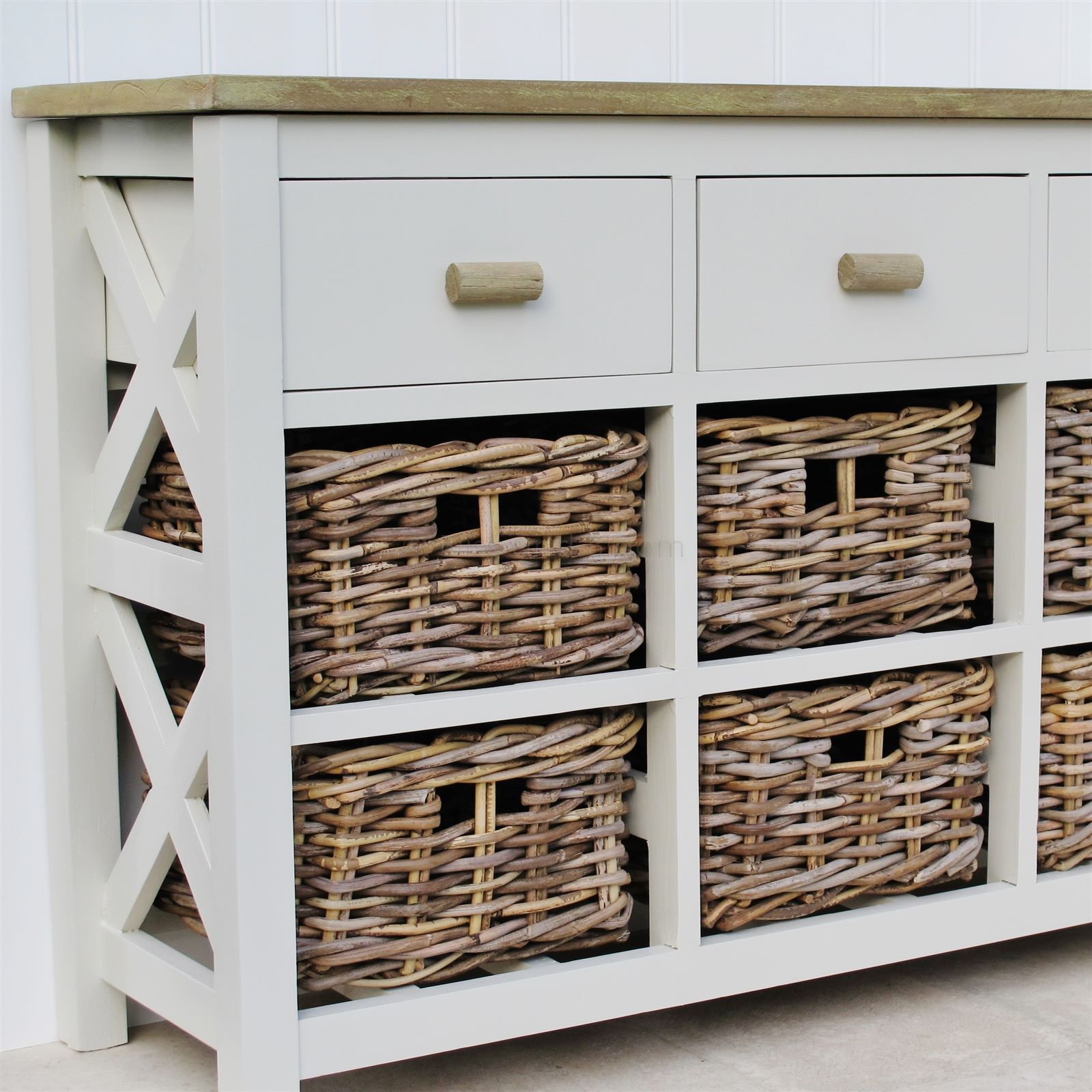 9 Drawer Basket Storage Unit Bliss And Bloom Ltd
