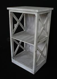 Grey Wash Side Table Bedside Bliss And Bloom Ltd