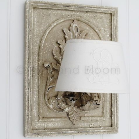 French style wall light with shade bliss and bloom ltd french style wall light with shade hover to zoom click here for a bigger picture aloadofball Choice Image