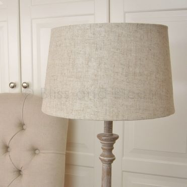 Linen Lampshade Bliss And Bloom Ltd