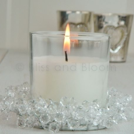 jewel candle holder candle bliss and bloom ltd. Black Bedroom Furniture Sets. Home Design Ideas
