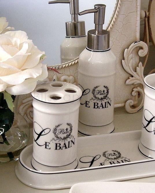 Le Bain 3pc Bathroom Set Bliss And Bloom Ltd