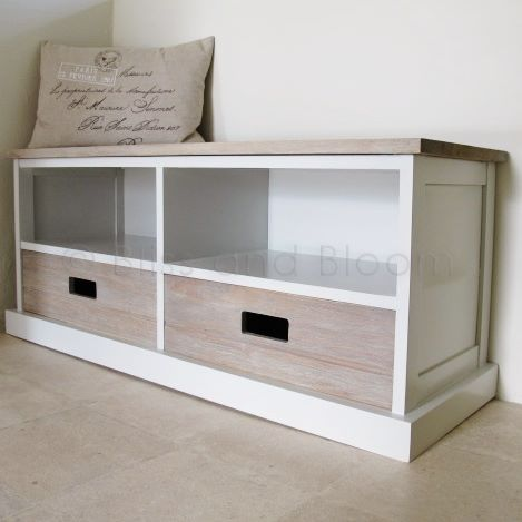 Lovely 2 Drawer Storage Unit Bench Seat. Hover To Zoom Click Here For A Bigger  Picture