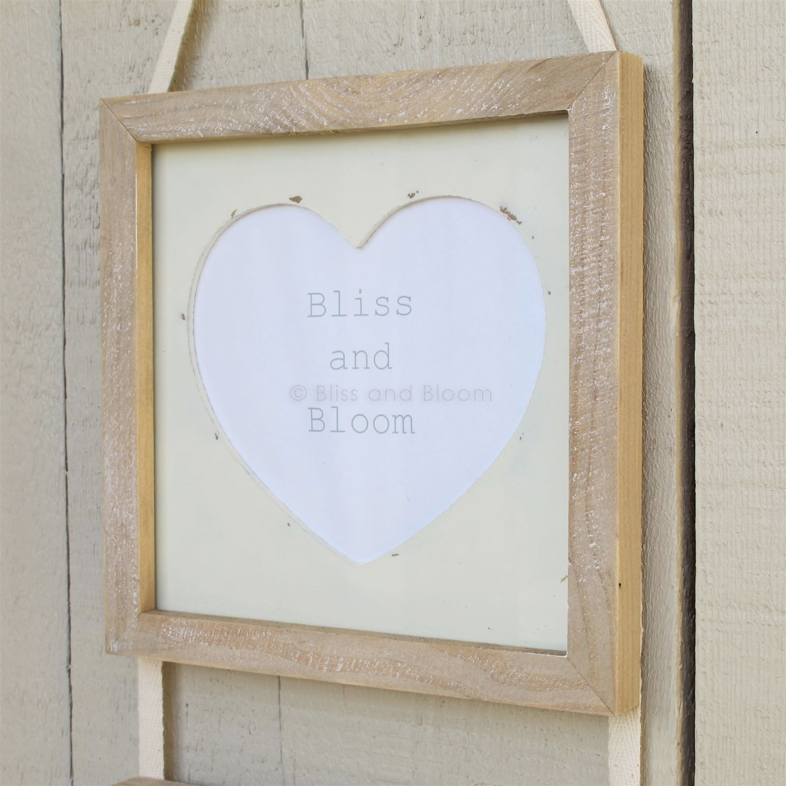 Triple Wooden Picture Frames Bliss and Bloom Ltd