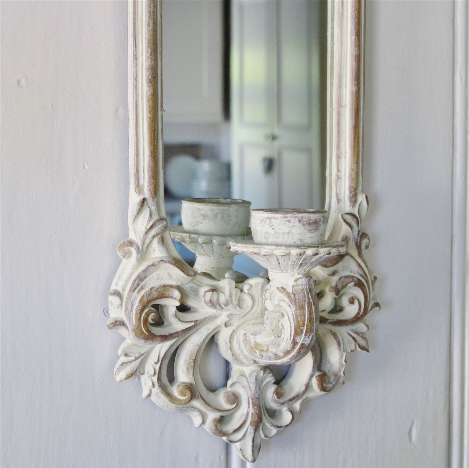 Mirror Candle Wall Sconce Bliss and Bloom Ltd
