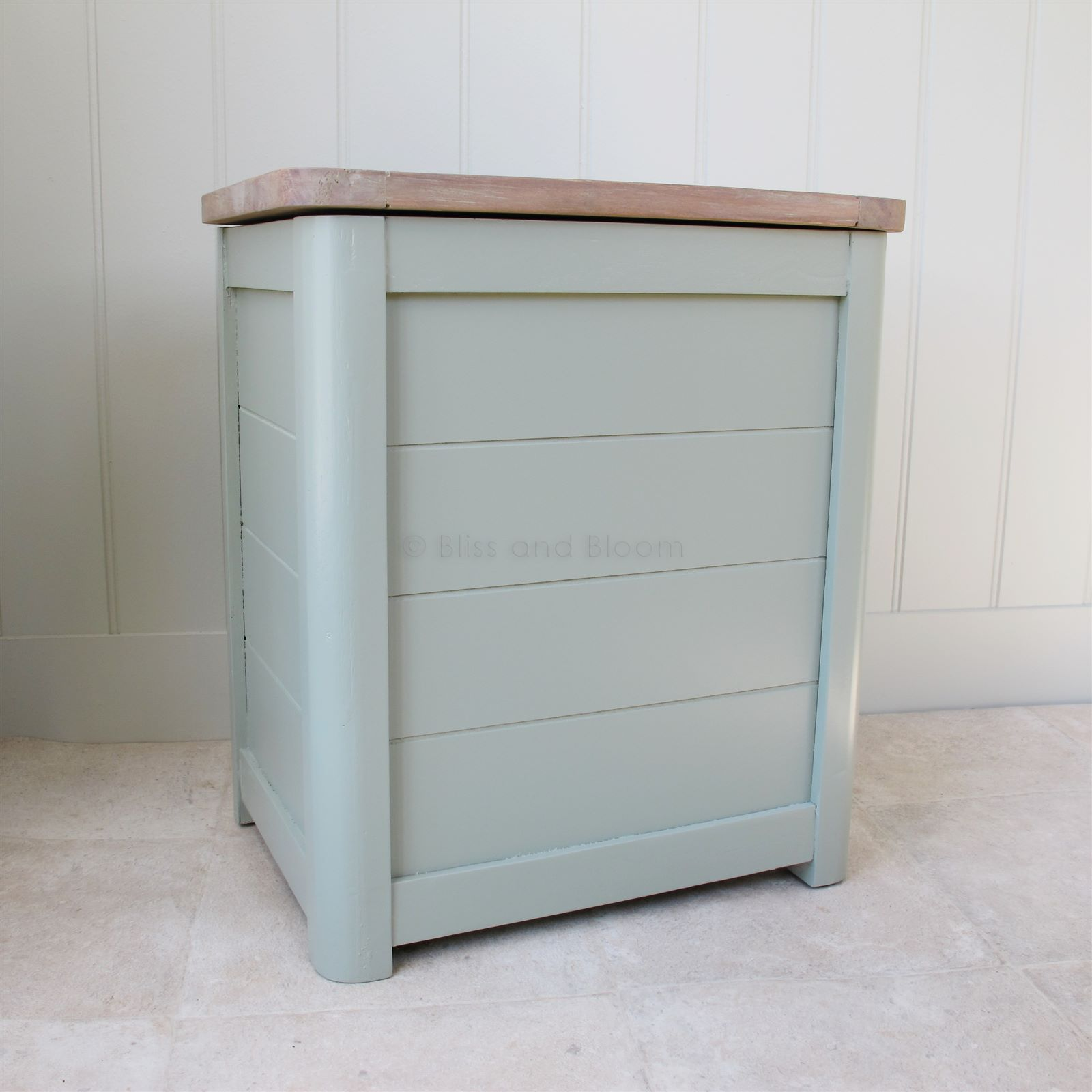 Wooden Laundry Bin Small