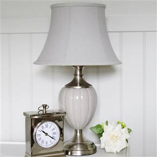 £49.99<br /><a href='/home-accessories/lamps-and-lighting/grey-table-lamp-base-and-shade-1' target='' title=''>for more details</a>