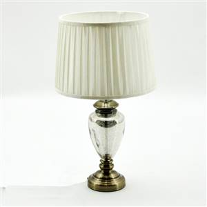 Gold Table Lamp Base and Shade