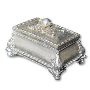 Silver Trinket Jewellery Box