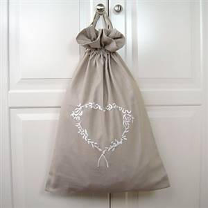Heart laundry bag