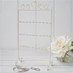 Cream Jewellery Stand