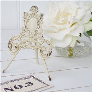 Cream Name Card Holders Weddings